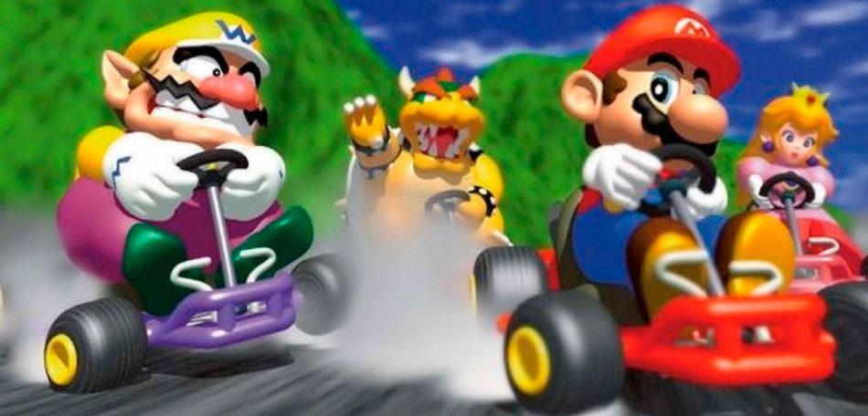 Battle Racing de Mario Karts en el SOFA